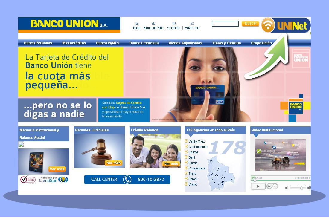 Abrir una caja de ahorros en el Banco Unión