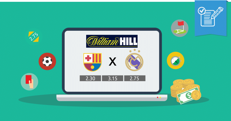 Apuestas en William Hill • ¿Como apostar en William Hill?