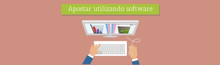 Apostar Utilizando Software