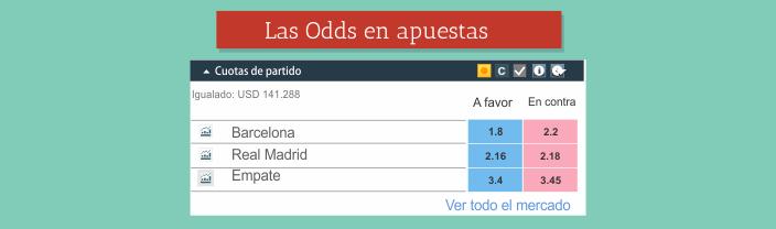 Las odds en apuestas desportivas - Apuestas de Fútbol