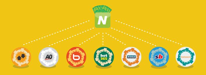 Preparado para depositar dinero en los sites de apuestas?