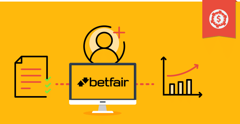 crear una cuenta en Betfair