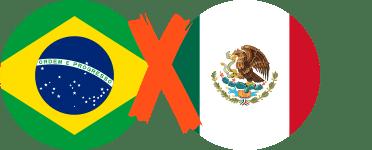 Brasil vs México Octavos de Final
