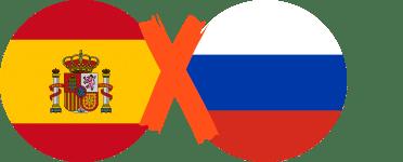 Pronósticos España vs Rusia – Octavos de final Copa Mundial
