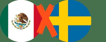 México vs Suecia Ronda 3 Grupo F