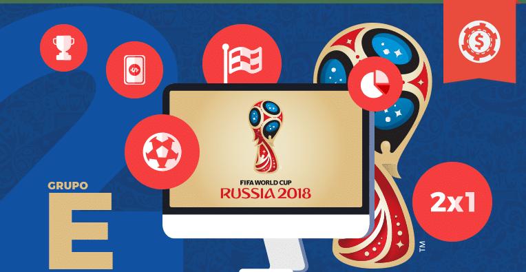 Pronósticos y apuestas Rusia 2018 • grupo E Brasil vs Costa Rica y Serbia vs Suiza