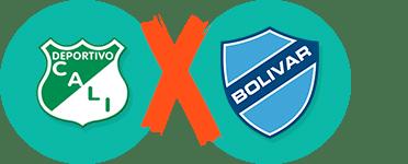 Pronósticos y apuestas Copa Sudamericana, Deportivo Cali vs Bolívar