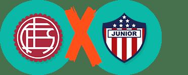 Pronósticos y apuestas Copa Sudamericana, Lanús vs Junior
