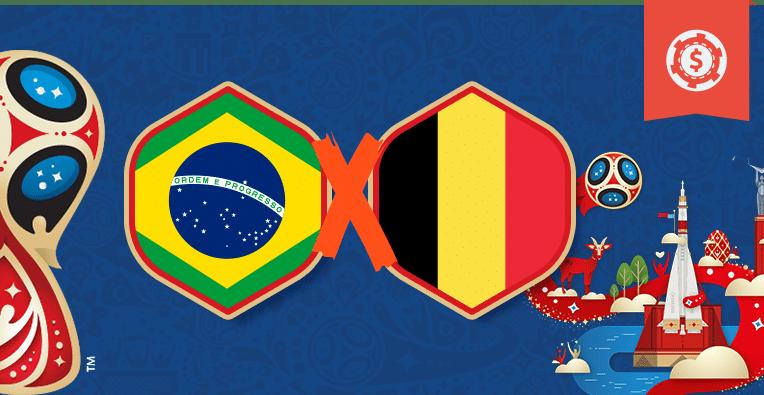 Apuestas Rusia 2018, Brasil vs Bélgica, cuartos de final