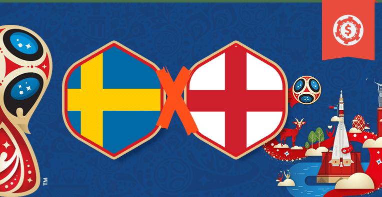 Pronósticos en el Mundial de Rusia 2018 • Cuartos de final - Suecia vs Inglaterra