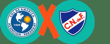 Pronósticos y apuestas Copa Sudamericana, Sol de America vs Nacional