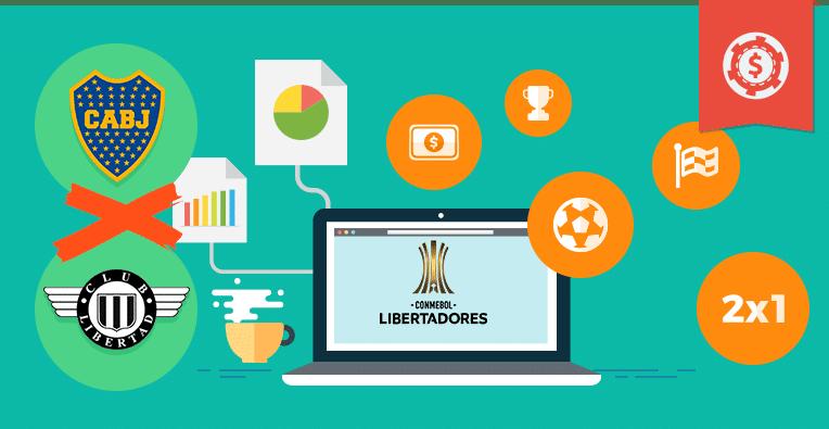 Pronósticos y apuestas Copa Libertadores, Boca vs Libertad