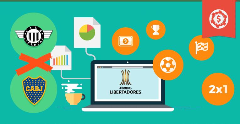 Pronósticos y apuestas Copa Libertadores, Libertad vs Boca