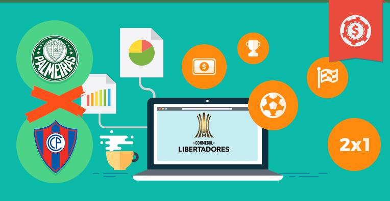 Pronósticos y apuestas Copa Libertadores, Palmeiras vs Cerro Porteño