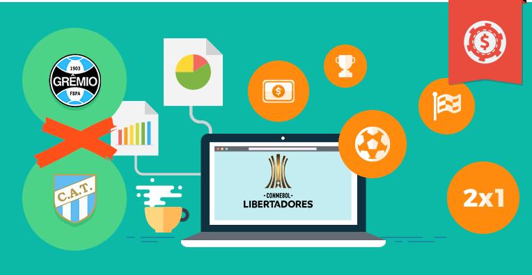 Pronósticos y apuestas Copa Libertadores, Gremio vs Atlético Tucumán
