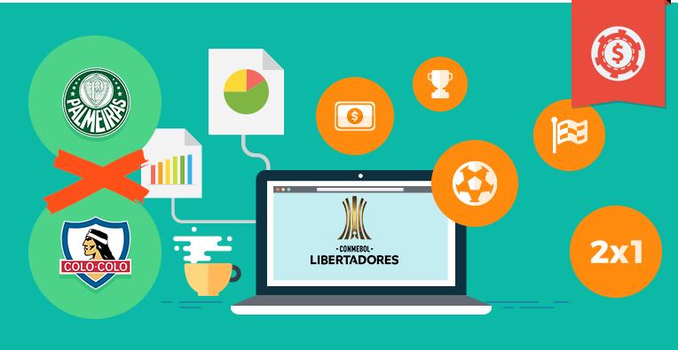 Pronósticos y apuestas Copa Libertadores, Palmeiras vs Colo Colo