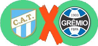 Atlético de Tucuman x Grêmio