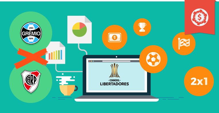 Pronósticos y apuestas Copa Libertadores, Gremio vs River