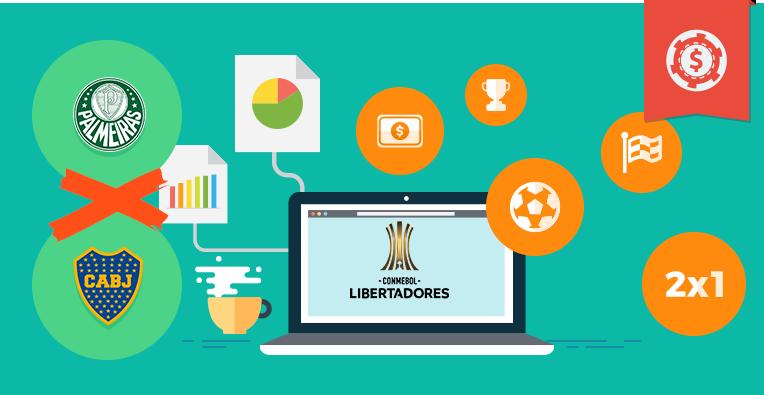 Pronósticos y apuestas Copa Libertadores, Palmeiras vs Boca