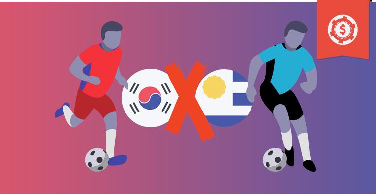 Pronósticos y apuestas fecha FIFA, Corea del Sur vs Uruguay