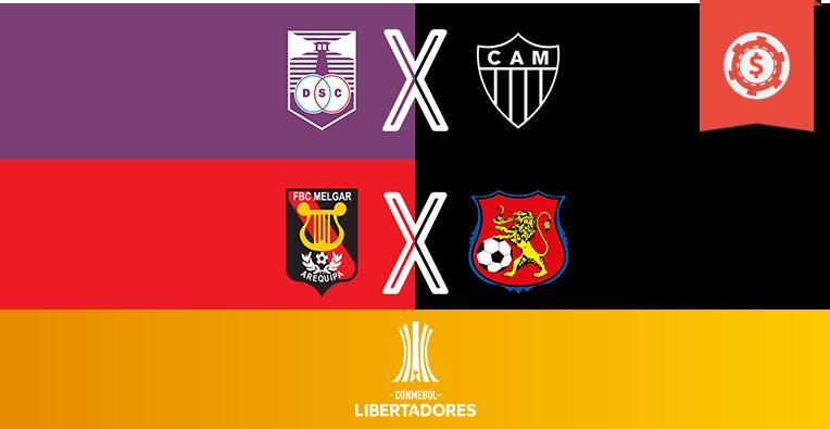 Pronósticos copa libertadores fase de clasificación semana 5