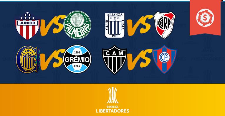 Pronósticos Copa Libertadores - Fase de Clasificación - Semana 7