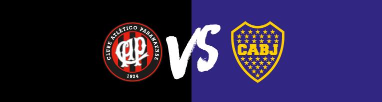 Athletico Paranaense vs Boca Juniors