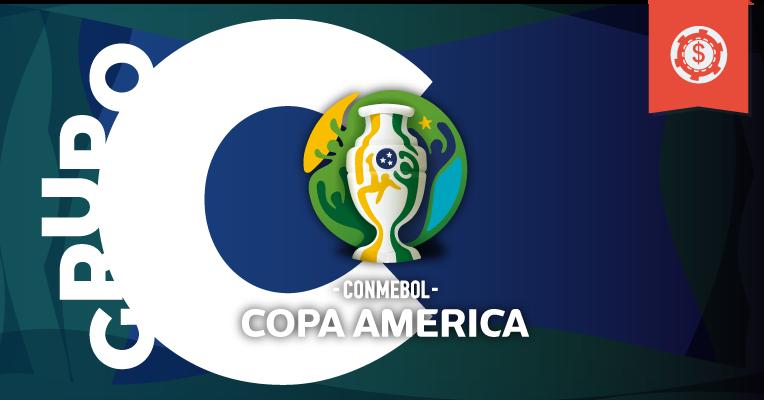 Apuestas en la Copa América 2019 • Grupo C