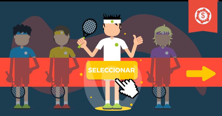 El estilo de los jugadores de tenis del circuito masculino • Como juegan los principales tenistas de la ATP