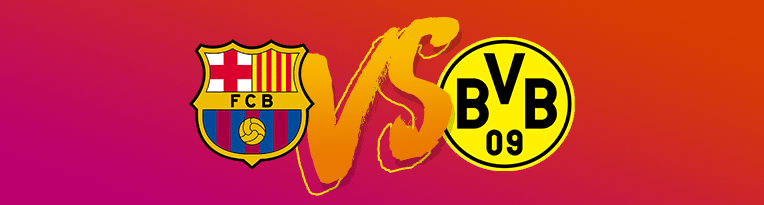 fc barcelona vs borussia dortmund