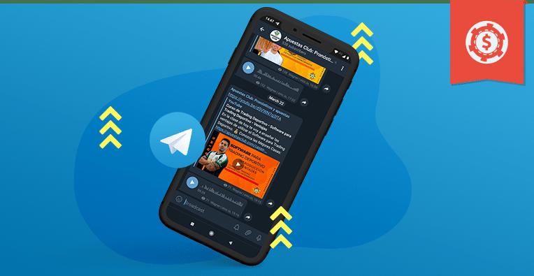 Telegram en las Apuestas